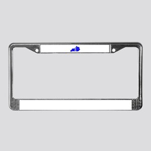 FOR THE BLUEGRASS License Plate Frame