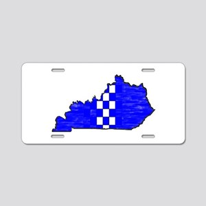 FOR THE BLUEGRASS Aluminum License Plate