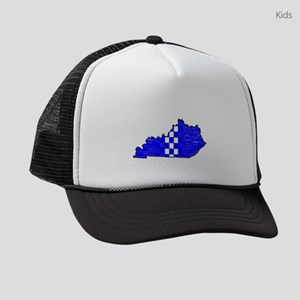 FOR THE BLUEGRASS Kids Trucker hat