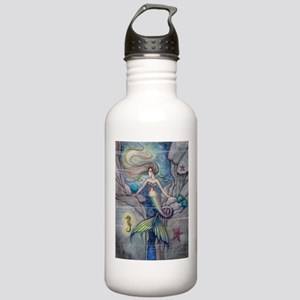 Mermaid and Seahorse F Stainless Water Bottle 1.0L