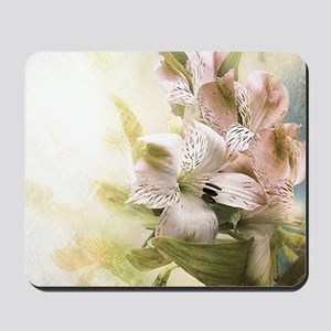 Vintage Flowers Mousepad
