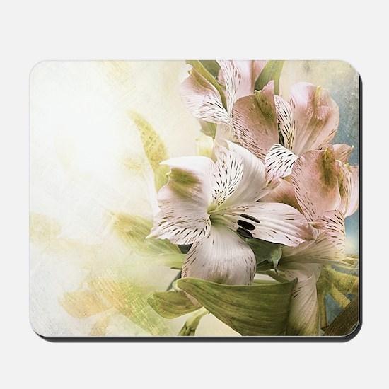 Vintage Flowers Mousepad