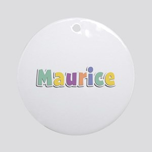 Maurice Spring14 Round Ornament