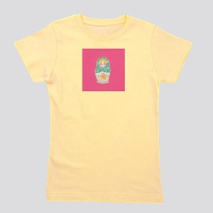Russian Nesting Doll Girl's Tee