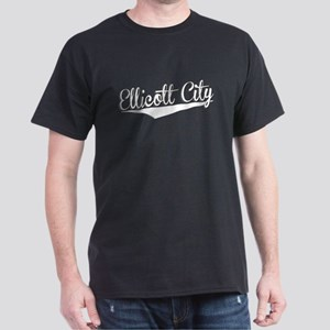 Ellicott City, Retro, T-Shirt