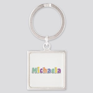 Michaela Spring14 Square Keychain