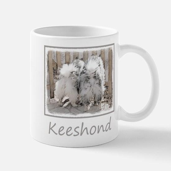 Keeshonds at the Gate Mug
