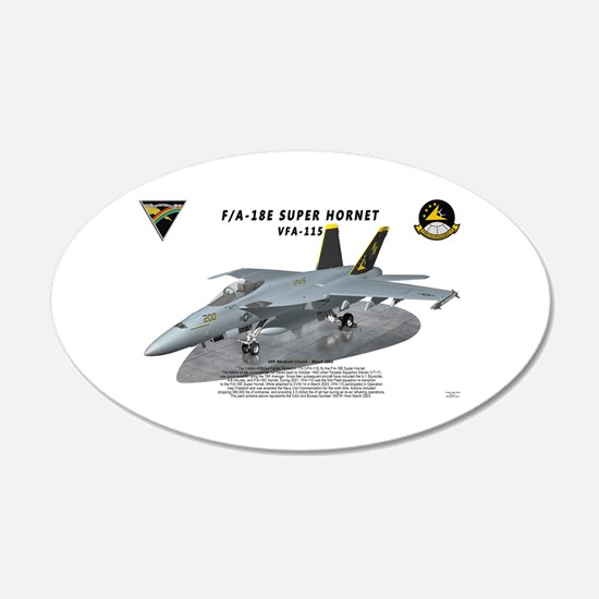 F/A-18E VFA-115 on ramp Wall Decal
