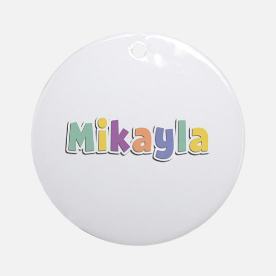 Mikayla Spring14 Round Ornament