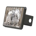 Keeshonds at the Gate Rectangular Hitch Cover