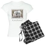 Keeshonds at the Gate Women's Light Pajamas