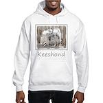 Keeshonds at the Gate Hooded Sweatshirt
