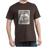 Keeshonds at the Gate Dark T-Shirt