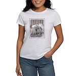 Keeshonds at the Gat Women's Classic White T-Shirt