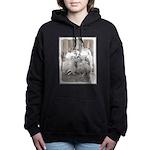 Keeshonds at the Gate Women's Hooded Sweatshirt
