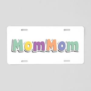 MomMom Spring14 Aluminum License Plate