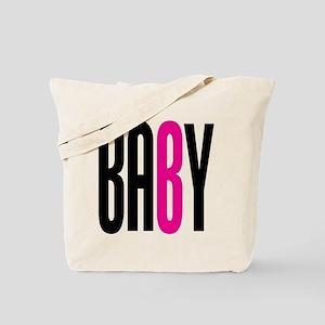 Twin Baby B Pink Tote Bag