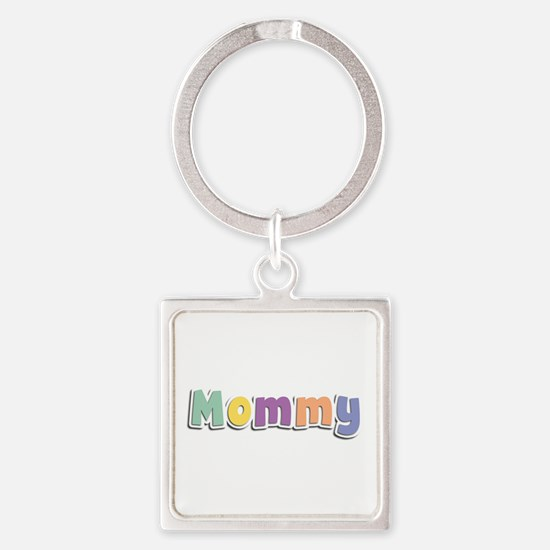 Mommy Spring14 Square Keychain