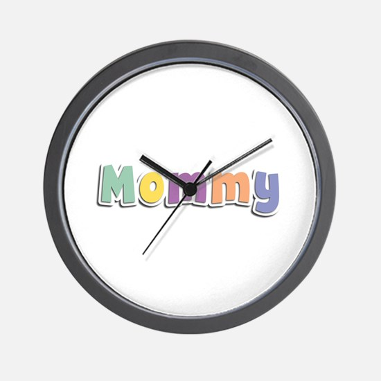 Mommy Spring14 Wall Clock