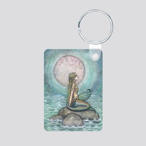 The Pastel Sea Mermaid Fantasy Art Keychains