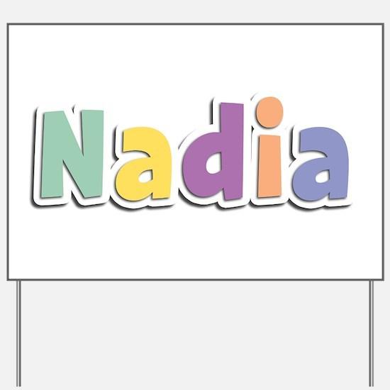 Nadia Spring14 Yard Sign