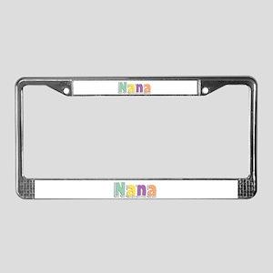 Nana Spring14 License Plate Frame