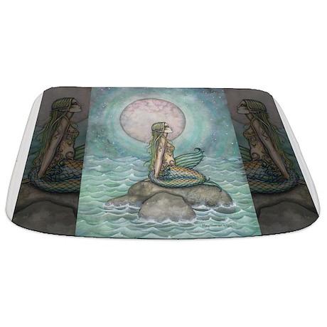 The Pastel Sea Fantasy Art Bathmat