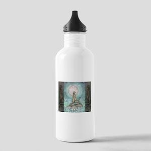 The Pastel Sea Fantasy Art Water Bottle