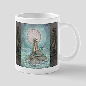 The Pastel Sea Fantasy Art Mugs