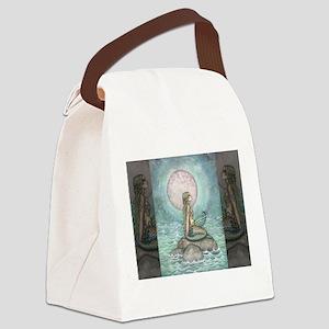 The Pastel Sea Fantasy Art Canvas Lunch Bag