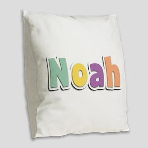 Noah Spring14 Burlap Throw Pillow