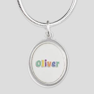 Oliver Spring14 Silver Oval Necklace
