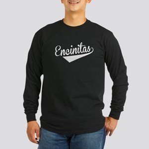 Encinitas, Retro, Long Sleeve T-Shirt