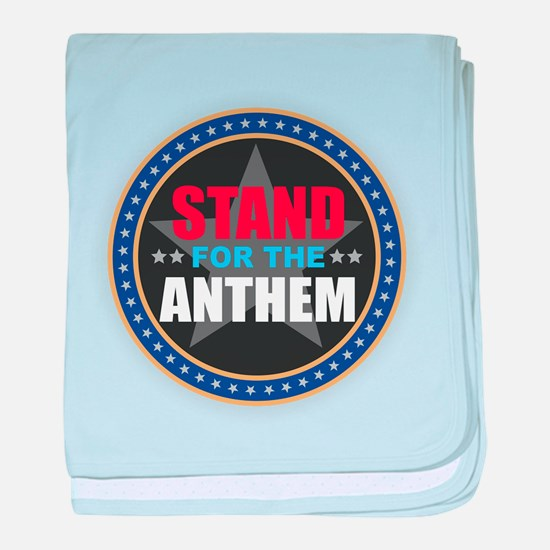 Stand for the Anthem baby blanket