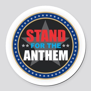 Stand for the Anthem Round Car Magnet