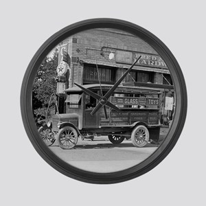 Hardware Store Delivery Truck, 19 Large Wall Clock
