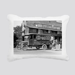 Hardware Store Delivery  Rectangular Canvas Pillow