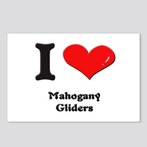 I love mahogany gliders  Postcards (Package of 8)