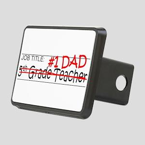 Job Dad 5th Grade Rectangular Hitch Cover