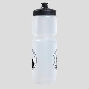 SDCVC Black and White Logo Sports Bottle