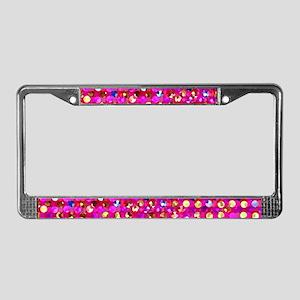 Polkadots Jewels 2 License Plate Frame