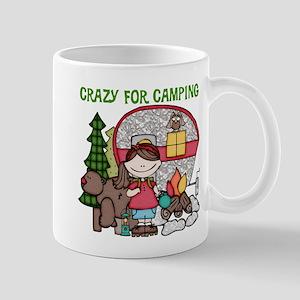 Girl Crazy For Camping Mug