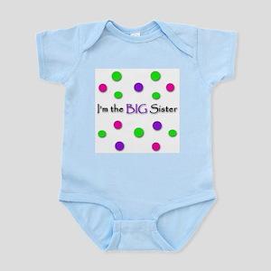 """I'm the Big Sister"" Infant Bodysuit / Onesie"