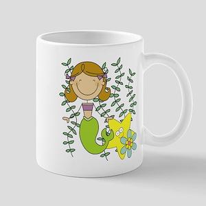Brown Mermaid Mug
