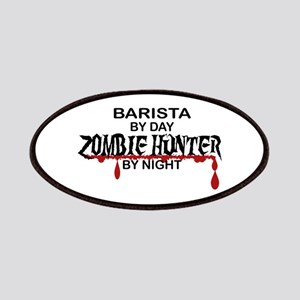 Barista Zombie Hunter by Night Patches