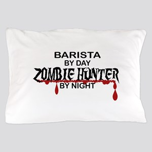 Barista Zombie Hunter by Night Pillow Case