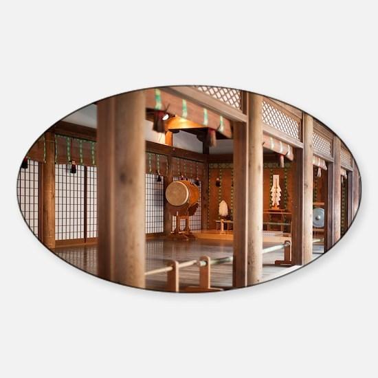 Kasuga-taisha Sticker (Oval)