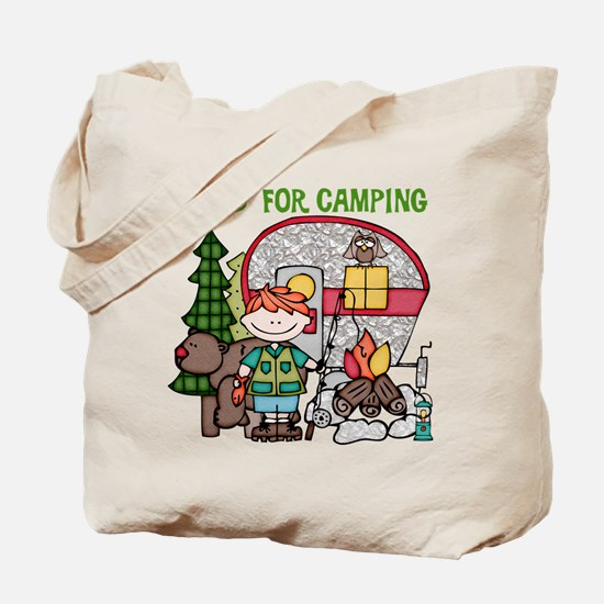 Boy Crazy For Camping Tote Bag