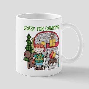 Boy Crazy For Camping Mug