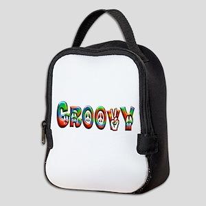 GROOVY Neoprene Lunch Bag